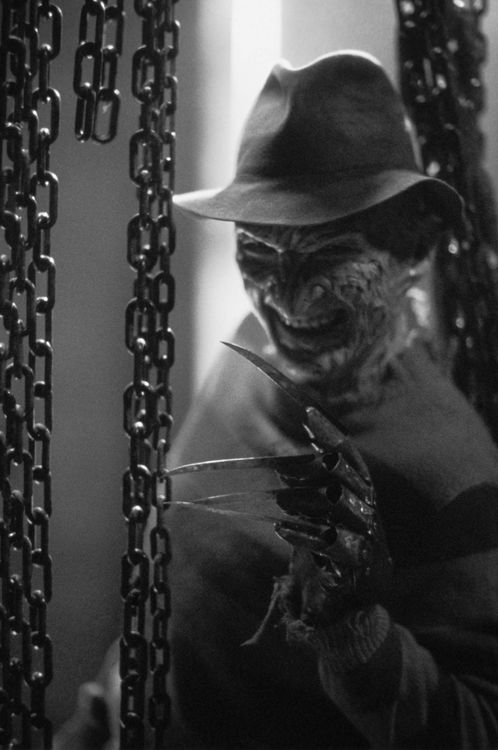 Freddy Kreuger | Nightmare On El Street | Horror Movies | Black and white photography