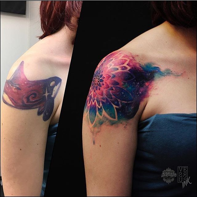 Cover up #Tattoo by @versusink #⃣#                                                                                                                                                      More