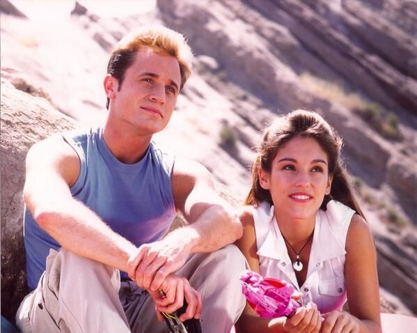 Billy and Kim :) power rangers MMPR The Movie