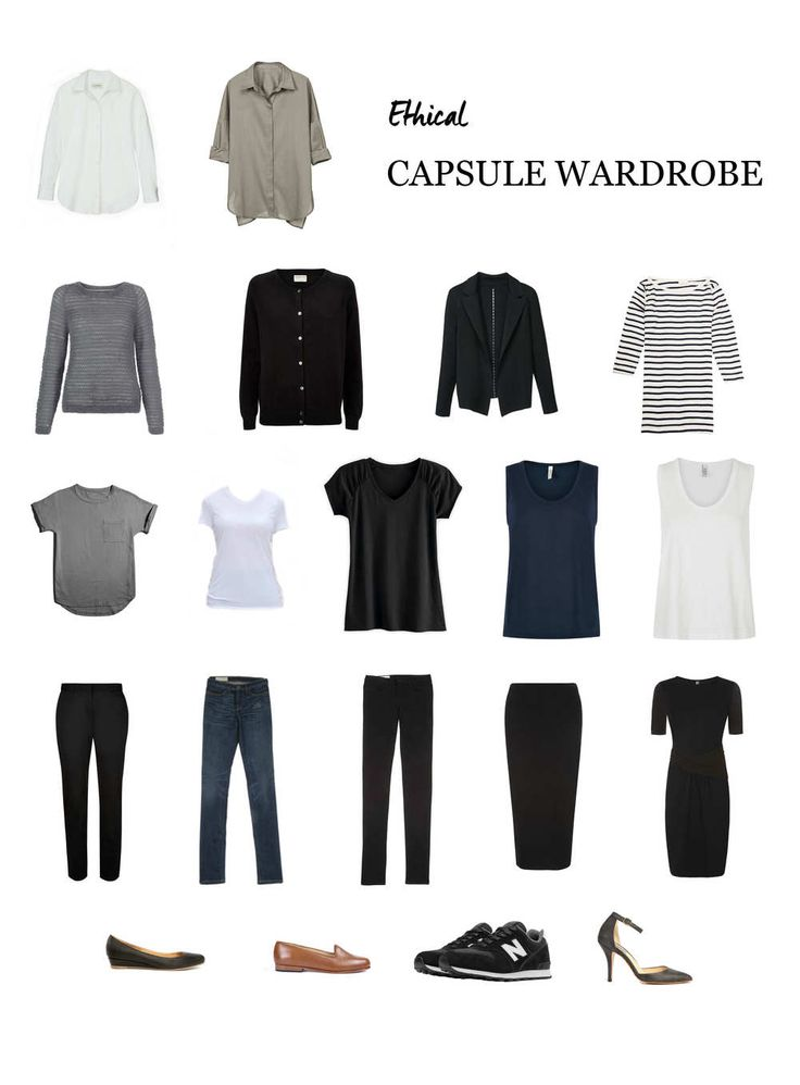 The Capsule Wardrobe Concept Has Become Somewhat Of A Fad