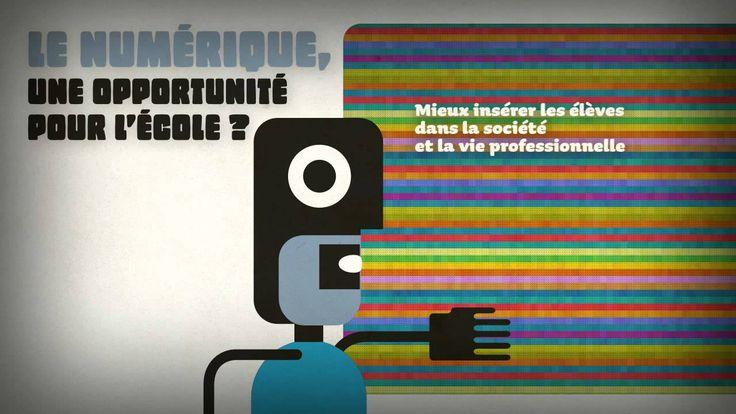 l'éducation nationale française - faire entrer l'école dans l'ère du numérique - la science et la technologie