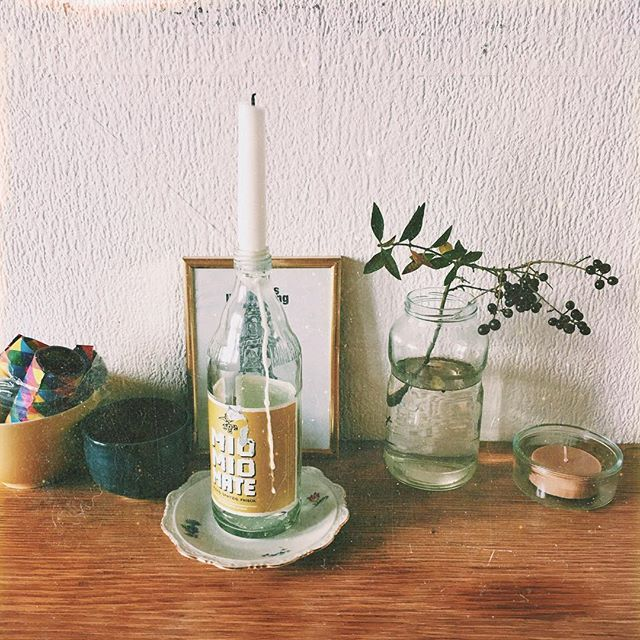 low life ✨ candles, autumn decoration, diy, selfmade, low budget decoration