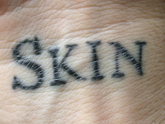 An author tattooed book word-by-word on the skin of 2,095 volunteers. #tattoo #ShelleyJackson #fact