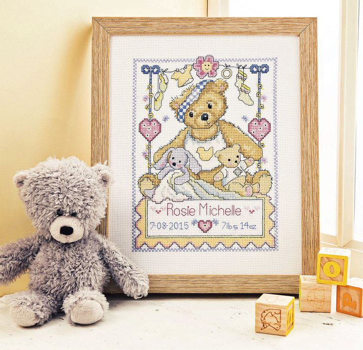 My First Teddy - Available in Cross Stitch Crazy 202