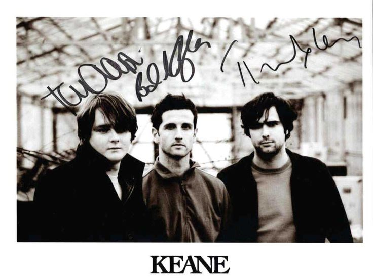 Keane. I have had many long nights listening to you guys...