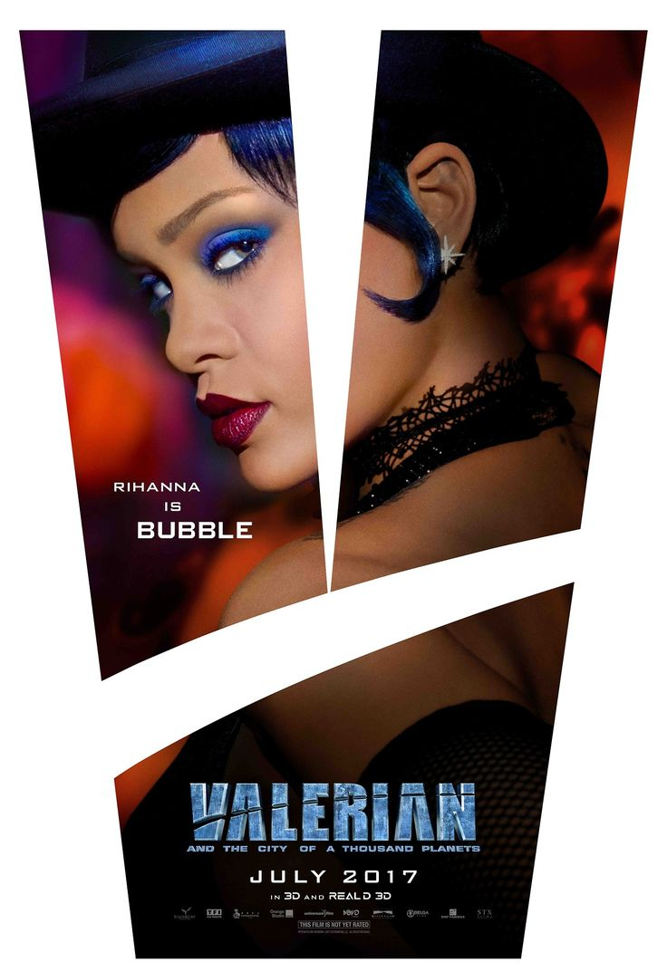 Valerian movie on tumblr. - Bubble is putting on the show of her life. See Rihanna in Valerian, in 3D and RealD 3D theaters July 21.