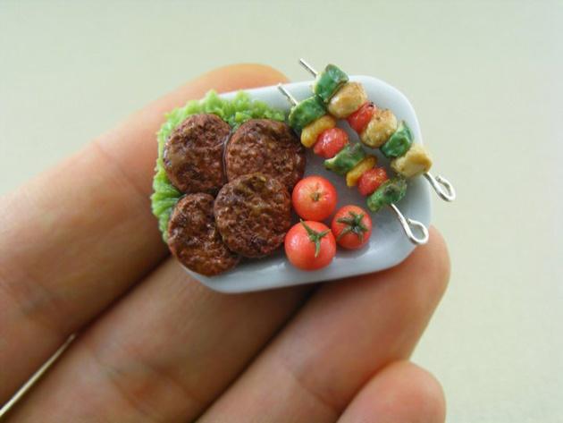 Shay Aaron's miniature foods