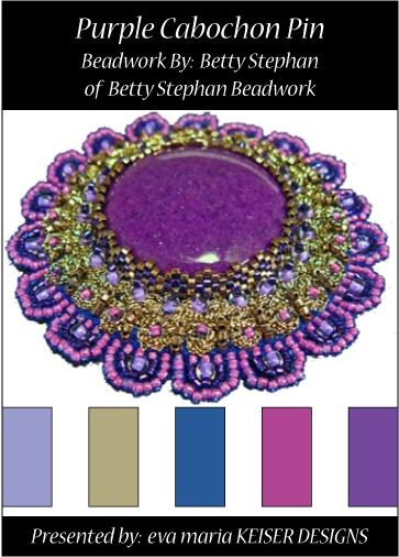 Colorway:  Betty Stephan  Website:  http://www.bettystephan.com/