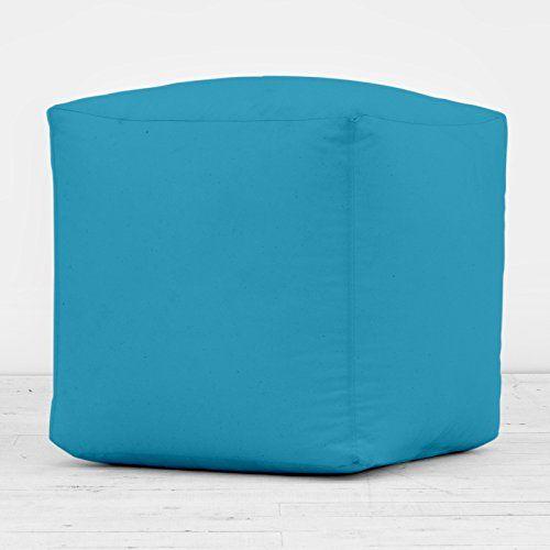 100% Cotton Bright Blue Cube Foot Stool Seat Pouffe Bean Bag Beanbag Filled Bean Bag Warehouse http://www.amazon.co.uk/dp/B00NNQM6D2/ref=cm_sw_r_pi_dp_n7mvvb0643ZNZ
