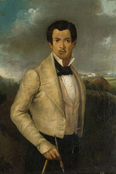 Autorretrato, 1862.