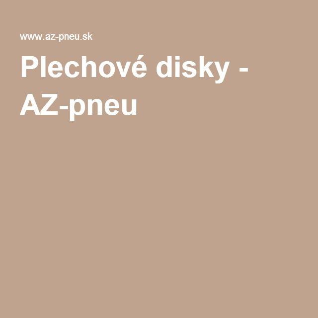 Plechové disky - AZ-pneu