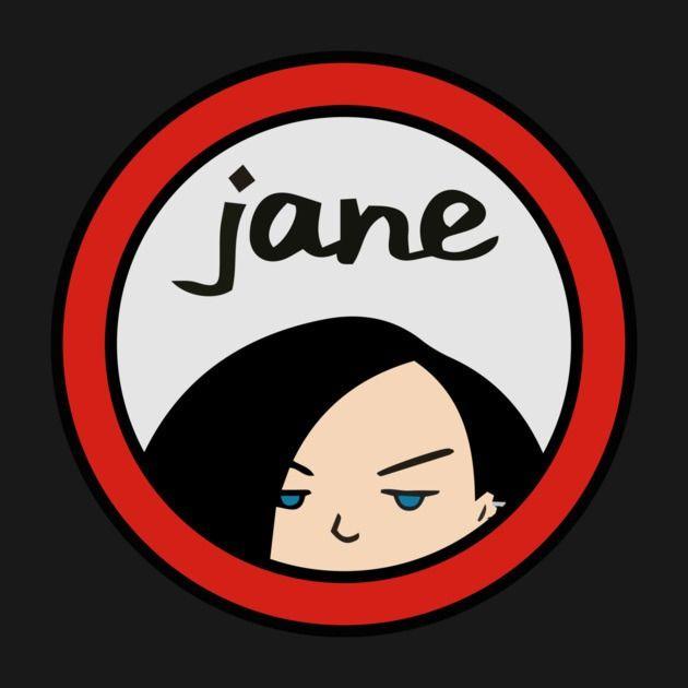 Awesome 'Jane+Lane' design on TeePublic!
