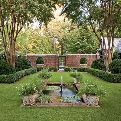 17 best ideas about brick fence on pinterest stone fence for Great landscape design