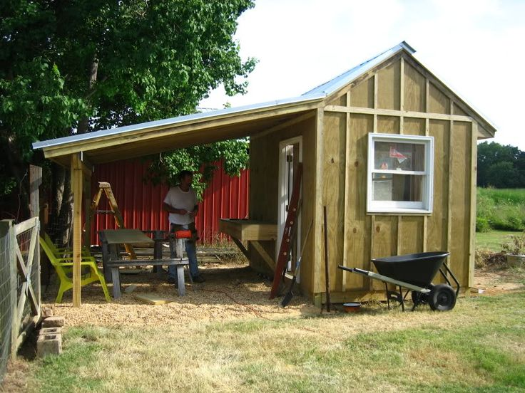 Storage Shed Roof Plans   5 Ideas On Building A Garden Shed .