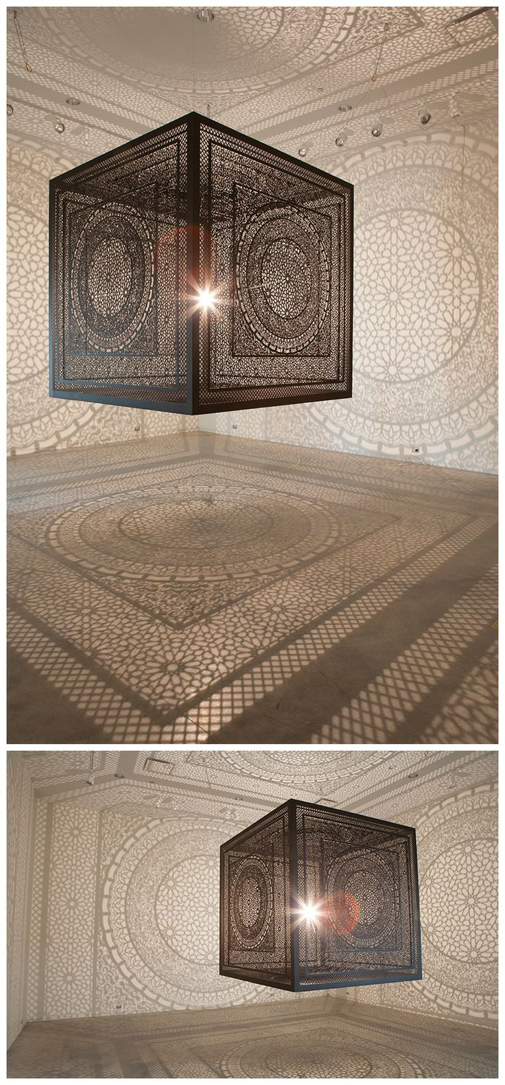Intersections An Ornately Carved Wood Cube Projects