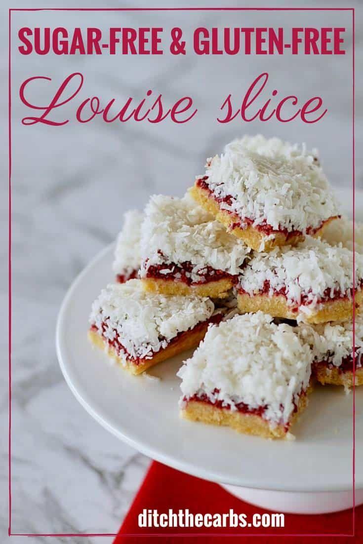 Healthy Sugar Free Gluten Free Louise Slice Recipe Sugar Free
