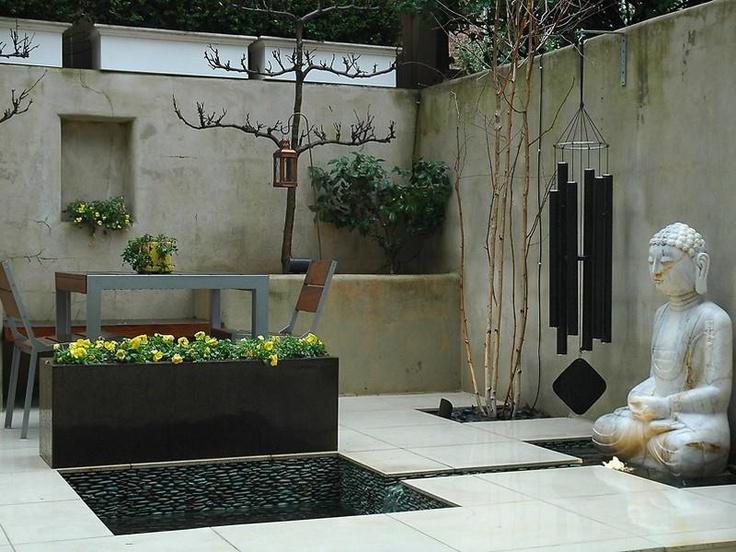 Modern Georgetown Townhouse In Washington Dc Zen Garden