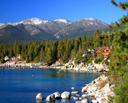 Lake Tahoe, This Place was One Of The Most Beautiful Places I've Ever Been.