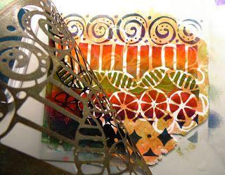 StencilGirl Talk: Guest Designer Lorraine Vogel: Creating Jewelry with Stencils!