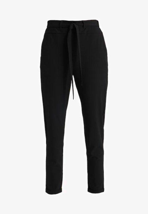 JILLIAN BELT PANT - Stoffhose - black deep в 2018 г.   Pants ... ea2ca9efcb