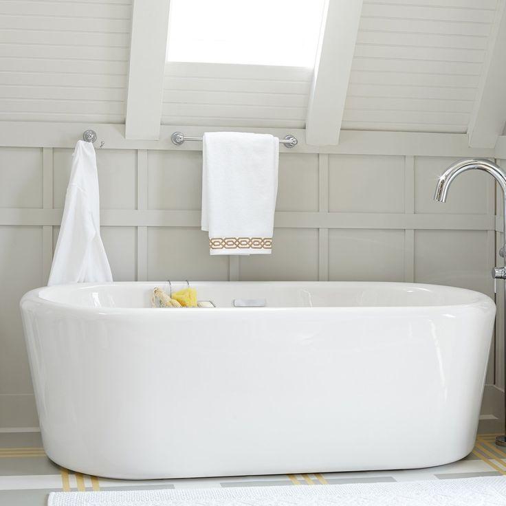 16 best freestanding bathtubs images on pinterest for Deepest bathtub available