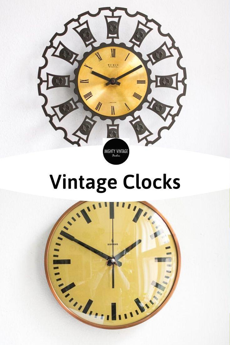 Vintage Wall Clocks Vintage Wall Clock Wall Clock Vintage Walls