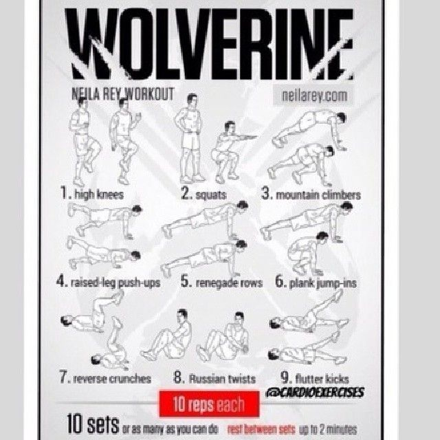 Athlean X Wolverine Workout Pdf | anotherhackedlife.com