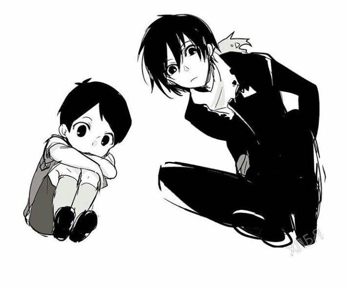 Ebisu-sama y Yato-sama de Noragami Manga
