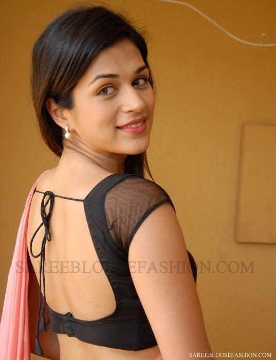 .simple saree blouse design, versatile with different sarees
