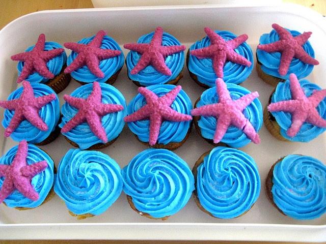 Ocean Cupcakes by artchick2002, via Flickr