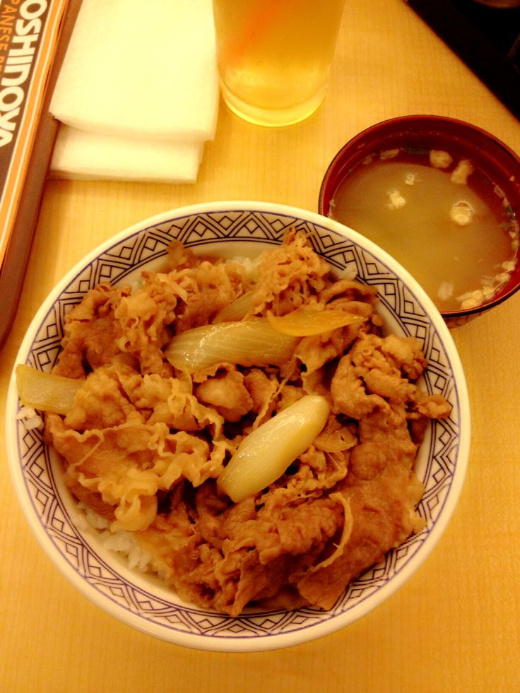 Original Beef Bowl - Yoshinoya