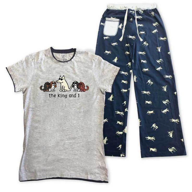 The King and I- Ladies Pajama Set