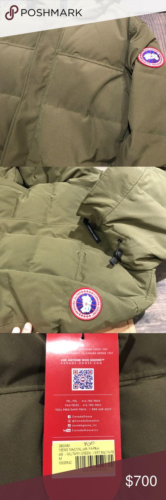 McMillan Parka Canada Goose: Military Green New With Tags McMillan Parka: Military Green Canada Goose Jackets & Coats