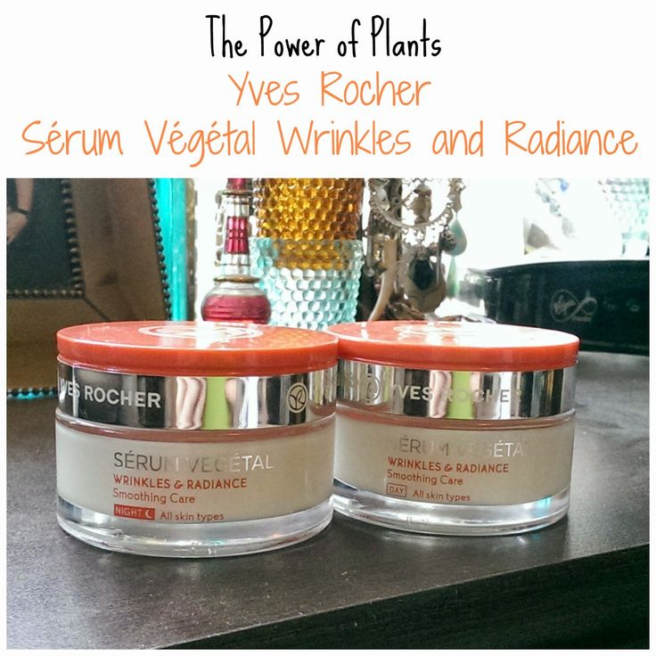 The Power of Plants - Yves Rocher Sérum Végétal Wrinkles and Radiance