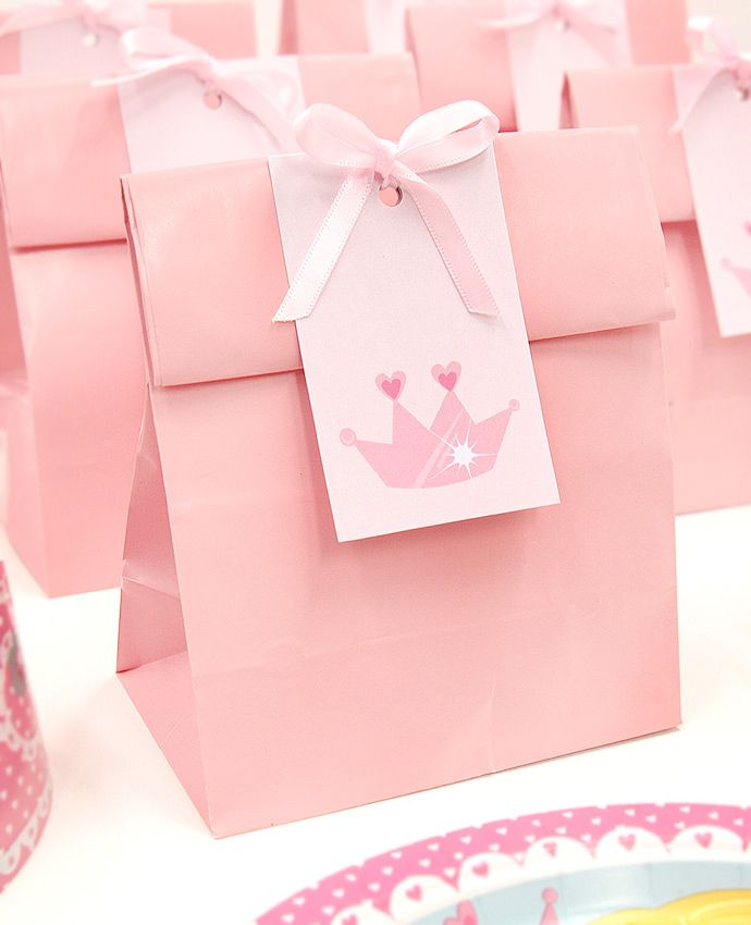 Planning a princess birthday party? Have a go at making these easy DIY princess party bags with some plain pink paper bags and our free printable gift tags. And visit our blog for even more princess party printables and easy princess party ideas.