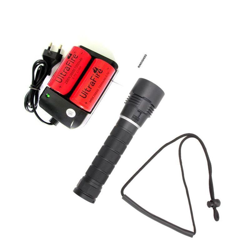 Lanterna mergulho profissional LED CREE -L2