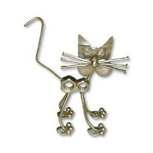 nuts+and+bolts+metal+art | FuNkY!!! Metal cat made from nuts and bolts for sale - TradeMe.co.nz ...