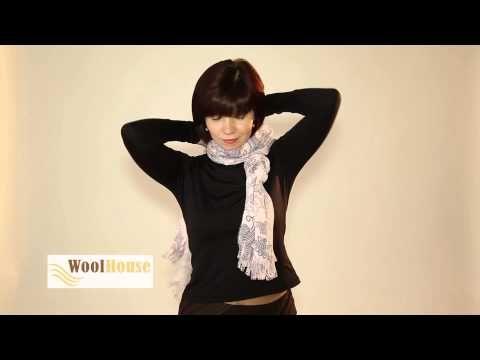 Draag jij een sjaal met deze kou? Deze vrouw laat 20 verschillende manieren zien om een sjaal te dragen! - Zelfmaak ideetjes