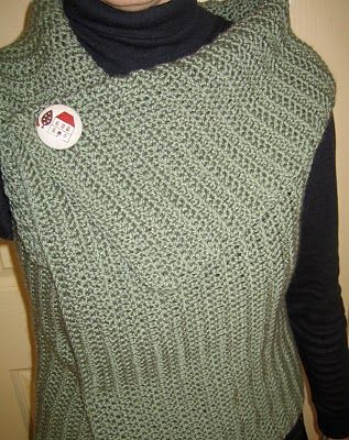 Crochet vest with instructions.