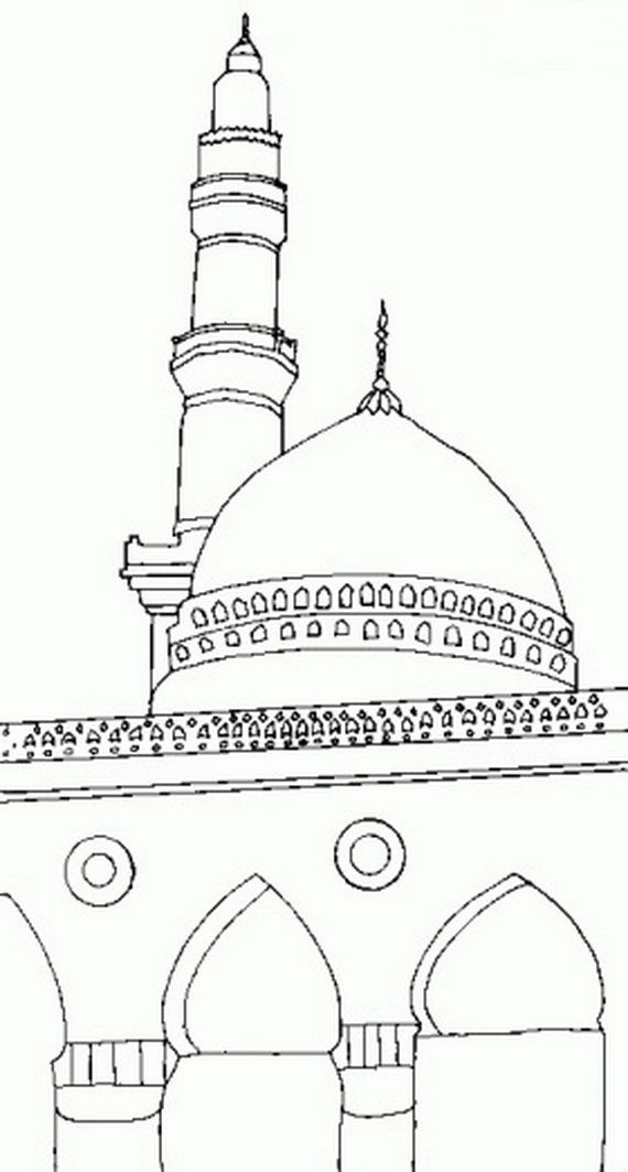 Isra Miraj 2012, Colouring Pages_10