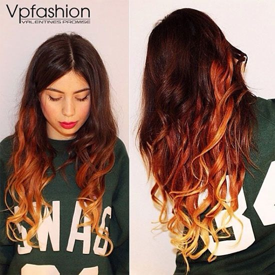 dark brown ombre hair colors for amazing hair looks