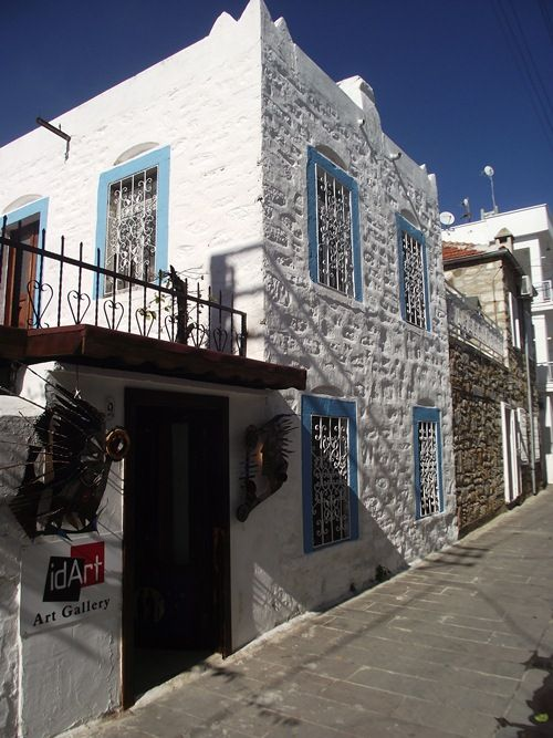 Traditional house of Bodrum town