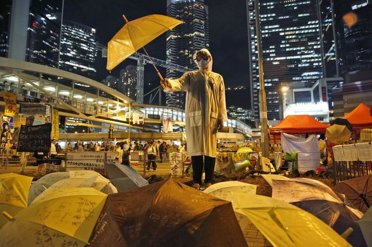 Hong Kong Democracy Protest by Kin Cheung for AP Photo, 2014