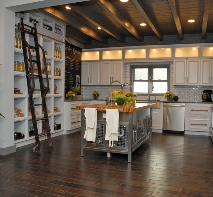 1000 Images About Kitchen Rolling Ladder On Pinterest