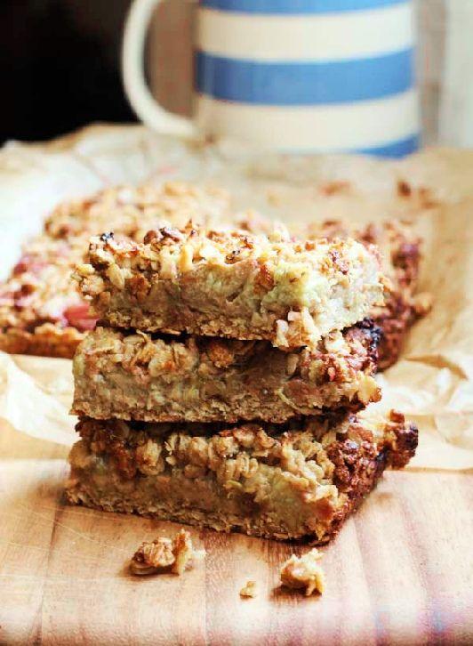 Low FODMAP and Gluten Free Recipe - Oaty gingerbread slice