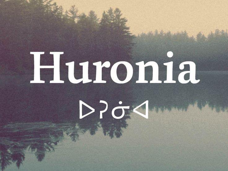 Huronia typeface by Ross Mills #amerindian #cherokee #inuktitut #book #typography #type #fonts #elegant  https://www.rosettatype.com/Huronia