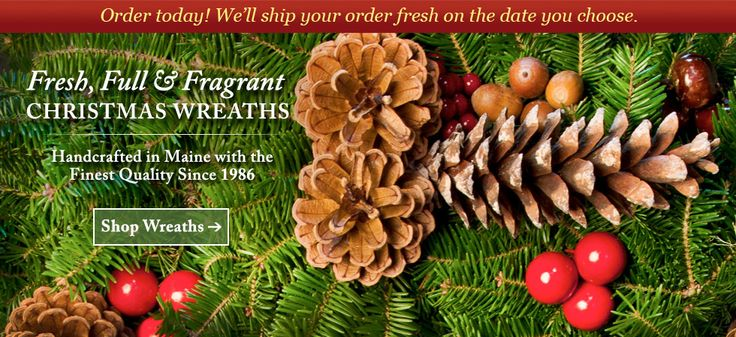 Visit Harbor Farm Evergreens To Find Fresh Christmas Wreaths For ...