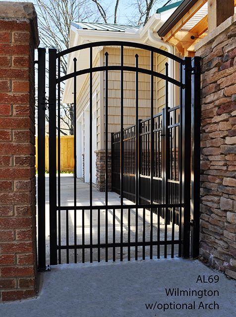 Best 25 Aluminum Gates Ideas On Pinterest Modern Gates