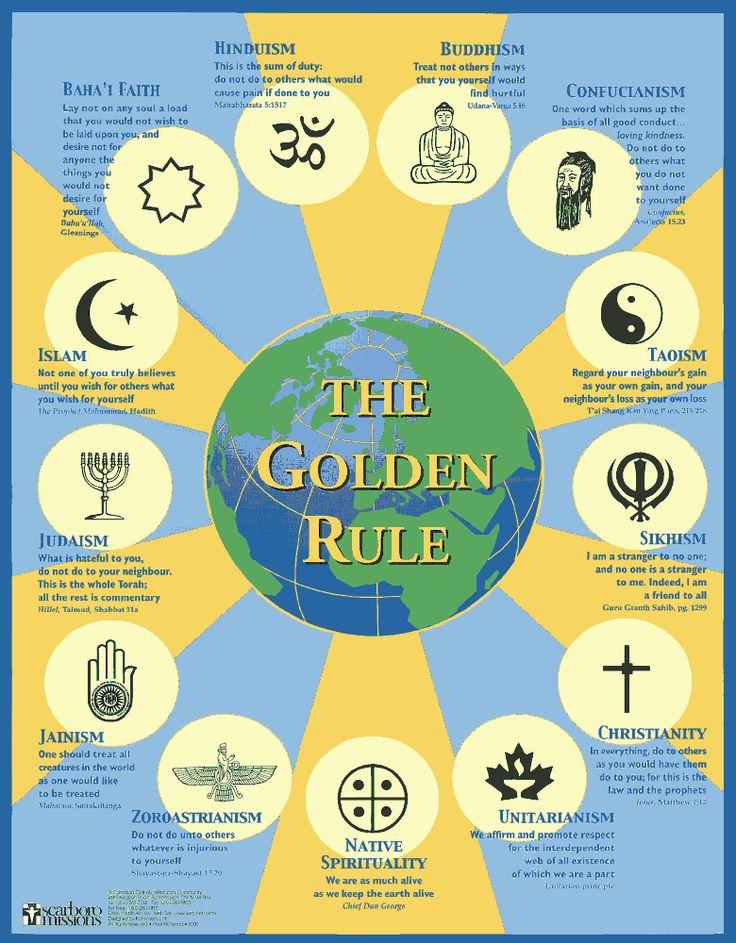 The Religion Of Two Face Batman Villain Harvey Dent: World Religions: The Golden Rule Across Cultures