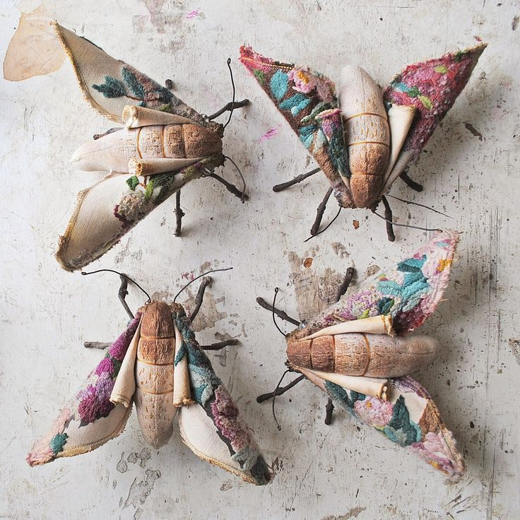 "I found textile artist Mister Finch when browsing on embroidery moths, then see some creepy animals and insects, like rabbits, spiders, and mushrooms with legs! Finch's ""dolls'"" have fantasy films' tone, I think I just walk into a ""wonderwoods""... SUPER RECOMMENDED!"